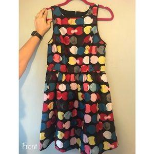 ModCloth Multicolor Polka Dot Dress